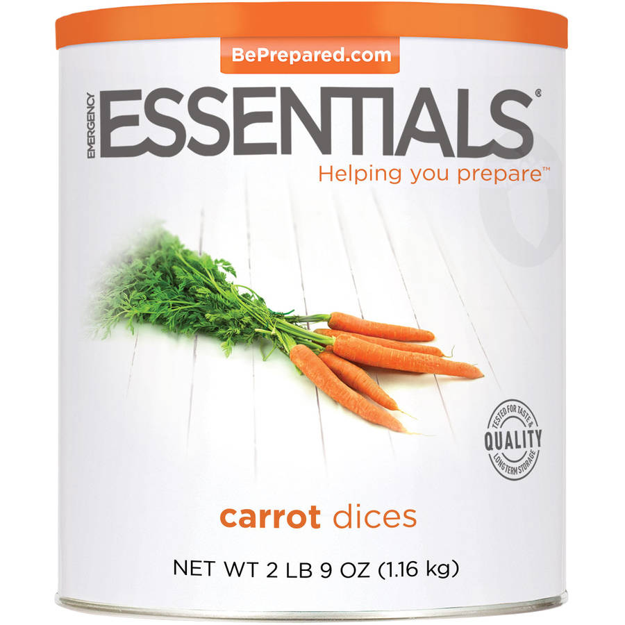 Emergency Essentials Food Carrot Dices, 41 oz by Emergency Essentials
