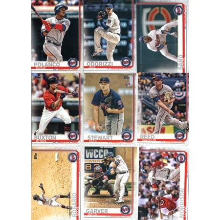 2019 Topps Series 1 Baseball Minnesota Twins Team Set of 11 Cards (Topps Minnesota Twins Baseball Cards)