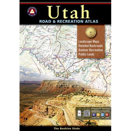 Utah Benchmark Road & Recreation Atlas (Maps Utah)