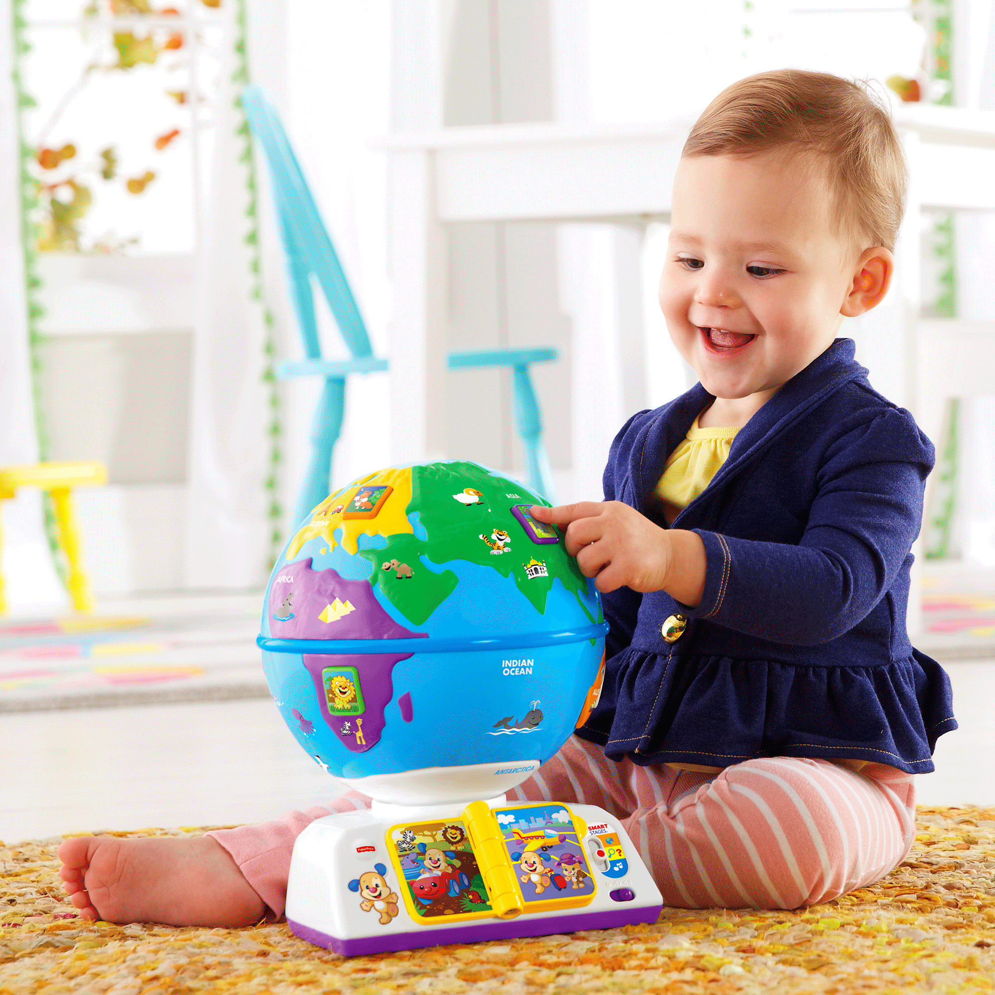 Fisher Price Laugh & Learn Greetings Globe by Fisher-Price