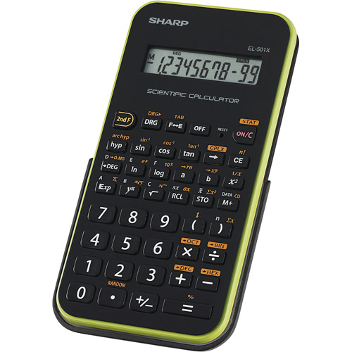 Sharp Scientific Calculator, EL-501XBGR