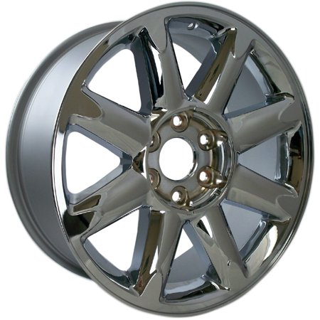 (2007-2013 GMC Sierra 1500  20x8.5 Aluminum Alloy Wheel, Rim Chrome Plated - 5304)