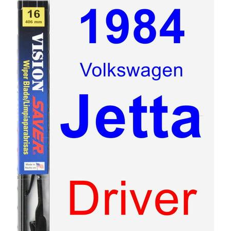 1984 Volkswagen Jetta Driver Wiper Blade - Vision