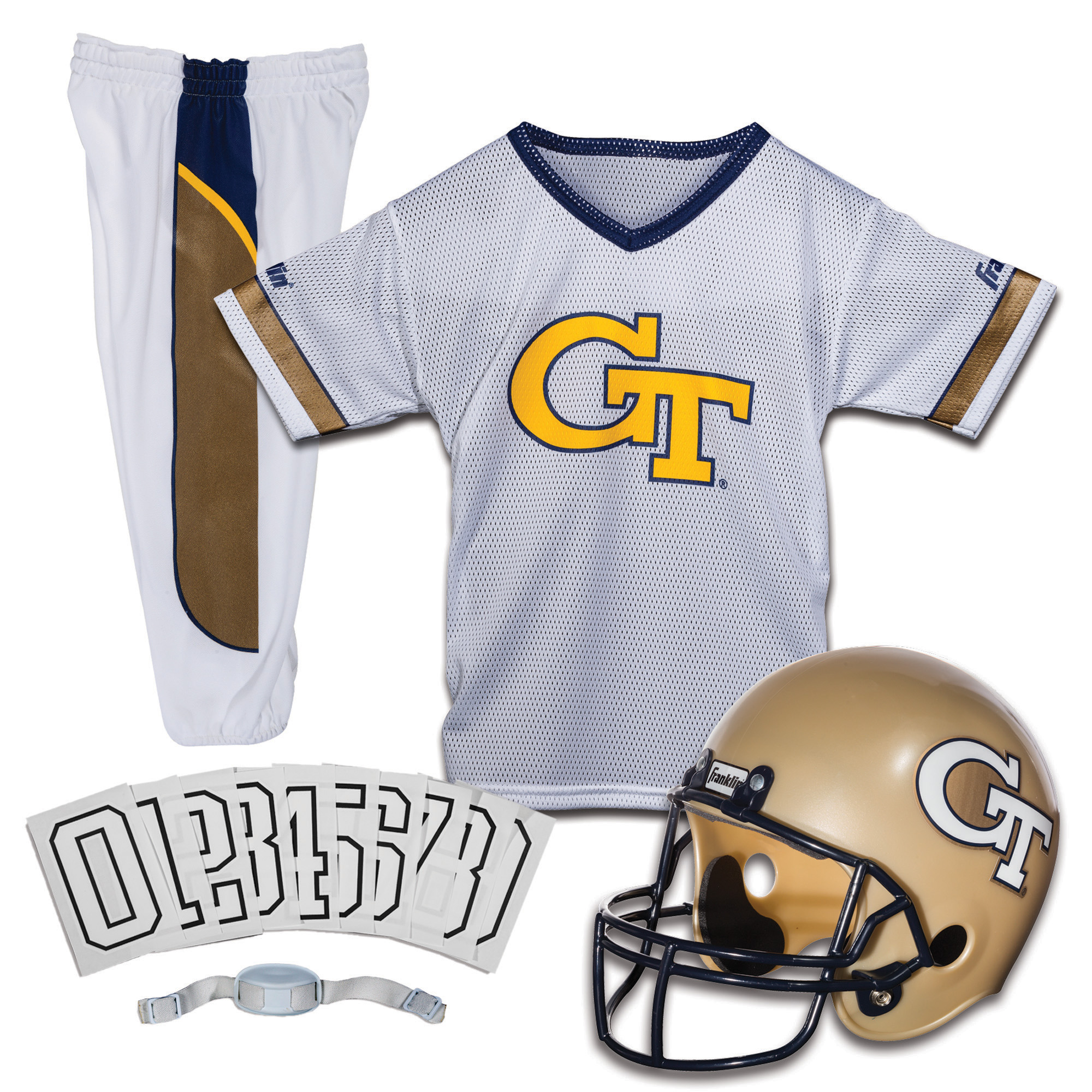Franklin Sports NCAA Uniform Set (Choose Team and Size)