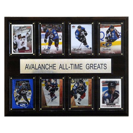 Nhl Hockey Plaque (C&I Collectables NHL 12x15 Colorado Avalanche All-Time Greats)
