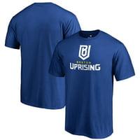 Boston Uprising Fanatics Branded Team Identity T-Shirt - Royal