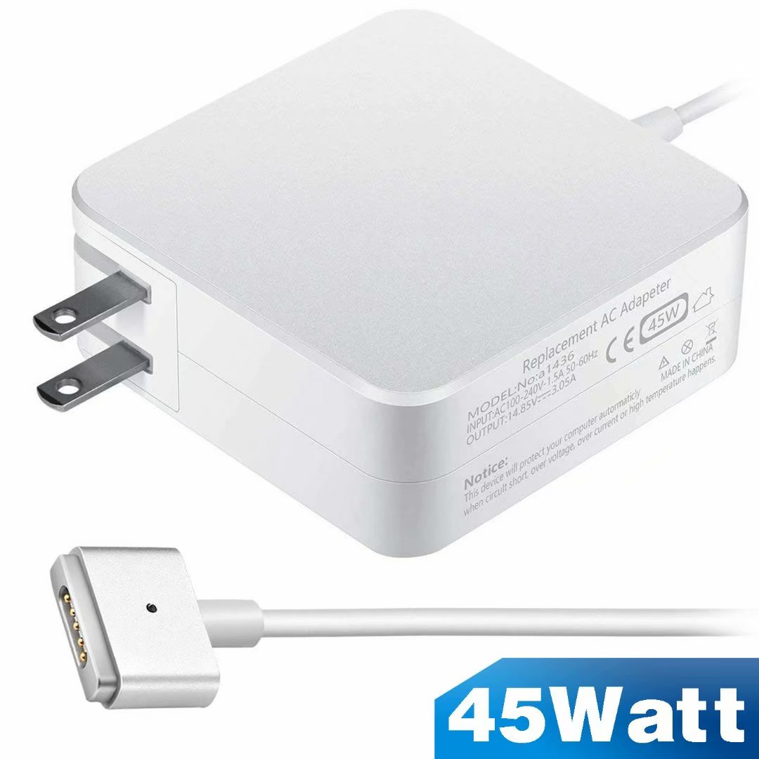 Compatible with MacBook Pro Charger,60w Magsafe L-tip Power Adapter Charger Replacement for MacBook Pro 11 13 inch Before 2012