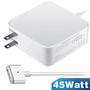 MacAir Charger,Replacement 45W T-Tip Magsafe 2 Power Adapter charger for MacAir 11 inch and 13 inch-12 months warranty