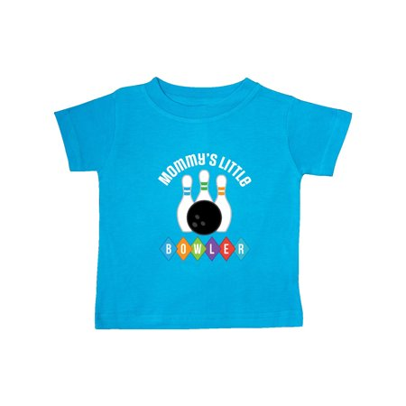 Bowling Mommys Little Bowler Outfit Baby T-Shirt