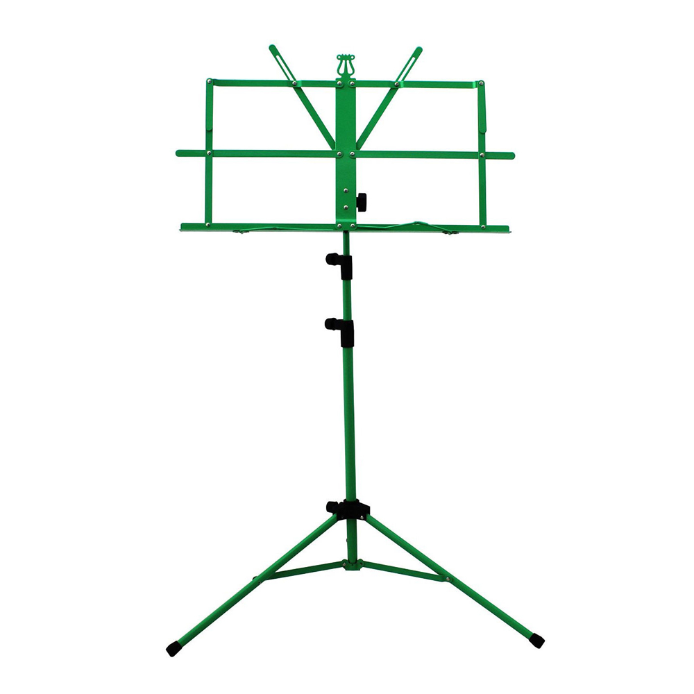 Sky Brand New Lightweight Adjustable Folding Music Stand with Carrying Bag-Green by