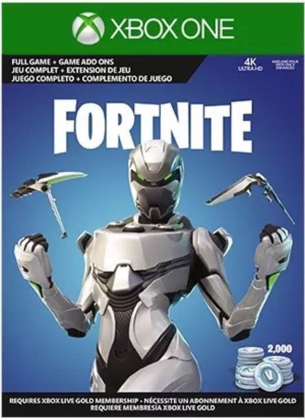 how to put xbox gift card on fortnite