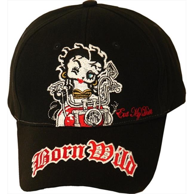 American Favorites BB413 Betty Born Wild Embroidered Baseball Cap