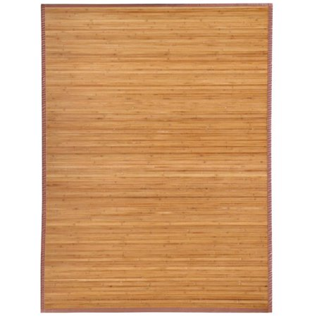Yaheetech Bamboo Area Rug Carpet 5'x 8' Brown Natural Bamboo Wood Floor Mat Bamboo Carpet