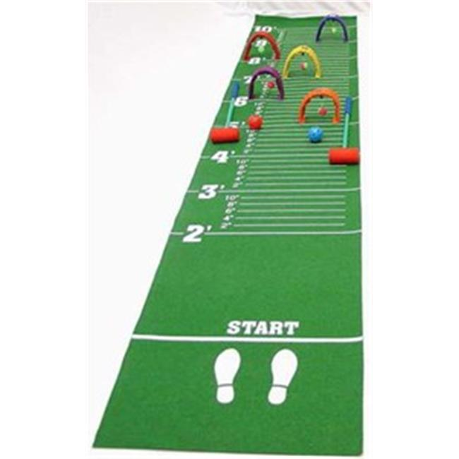 American Educational YTC-328 Long Jump-Croquet Mat Game