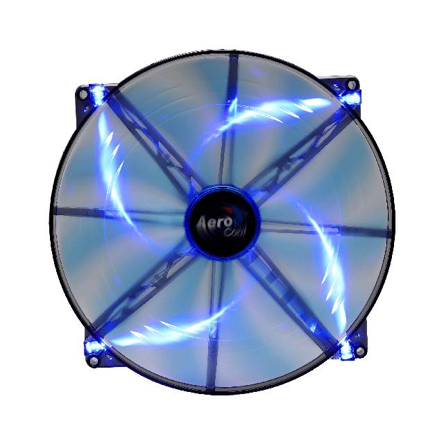 Aerocool SILENTMASTER200MMBLUELEDFAN Silent Master 200mm Blue Led Case Fan