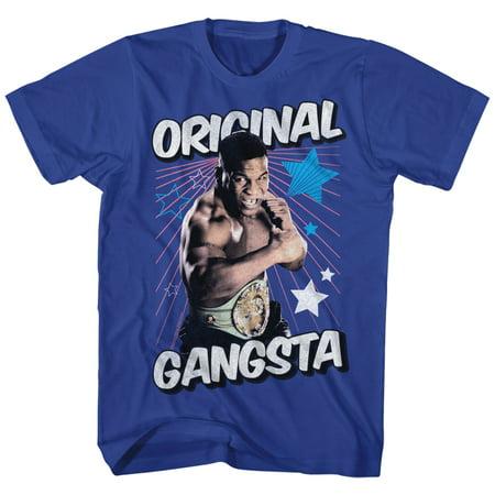 Mike Tyson Pro Heavyweight Boxing Champion Origianl Gangsta Adult T Shirt Tee