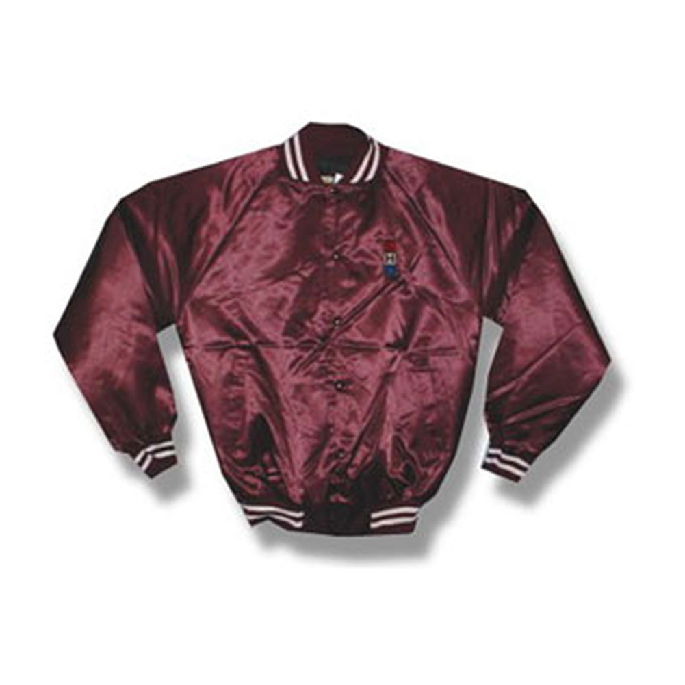 Spanish Harlem Orchestra Men's  Satin Jacket Red