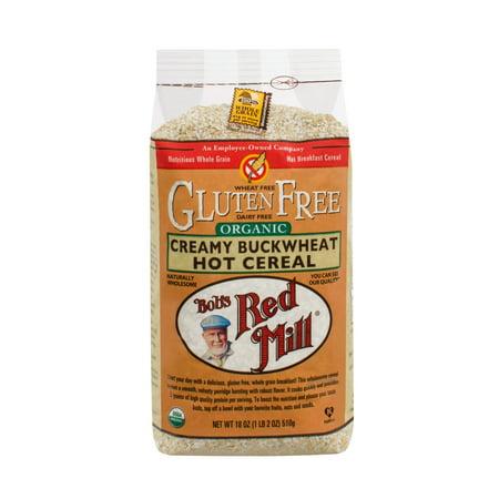 Bob's Red Mill Organic Gluten Free Creamy Buckwheat Hot Cereal, 18 Oz ()