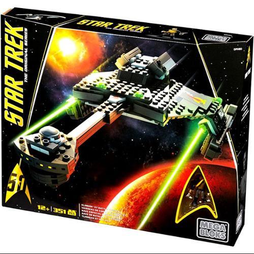 Star Trek Klingon Battle Cruiser Set Mega Bloks