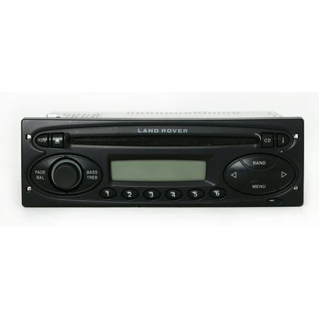 2002-2004 Land Rover Freelander Discovery AMFM Radio CD Player Part XQE000170PMA - Refurbished