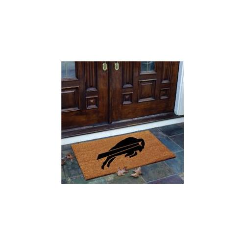 TMC NFL-BUF-826 Flocked Door Mat-Bills