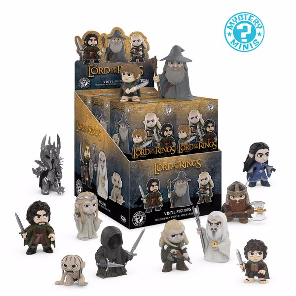 FUNKO MYSTERY MINI: Lord of the Rings - Tolkien (One Figure PerPurchase)