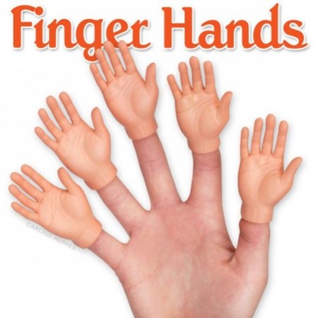 Five Puppets (Hand Finger Puppets Set of 5 by Accoutrements - 12513 )