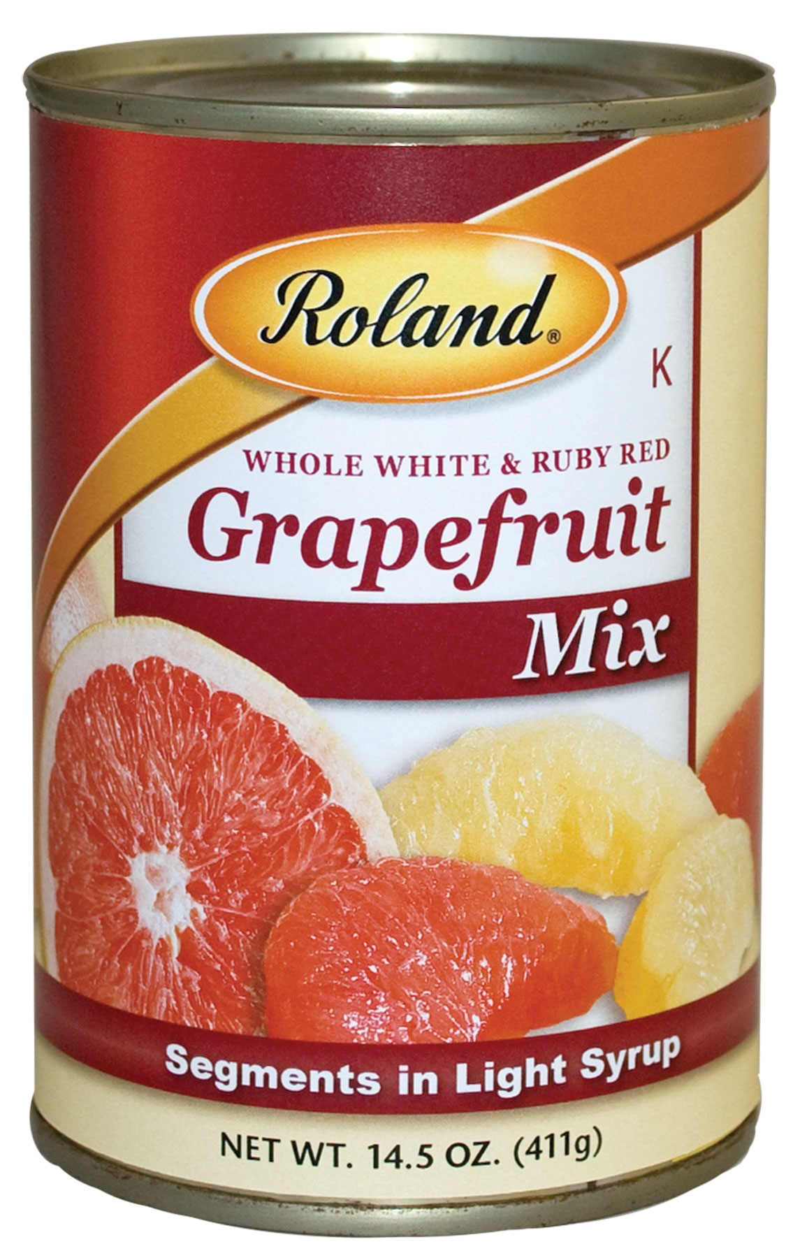 Roland Grapefruit Mix, Segments In Light Syrup, 14.5 Oz by Roland Corporation
