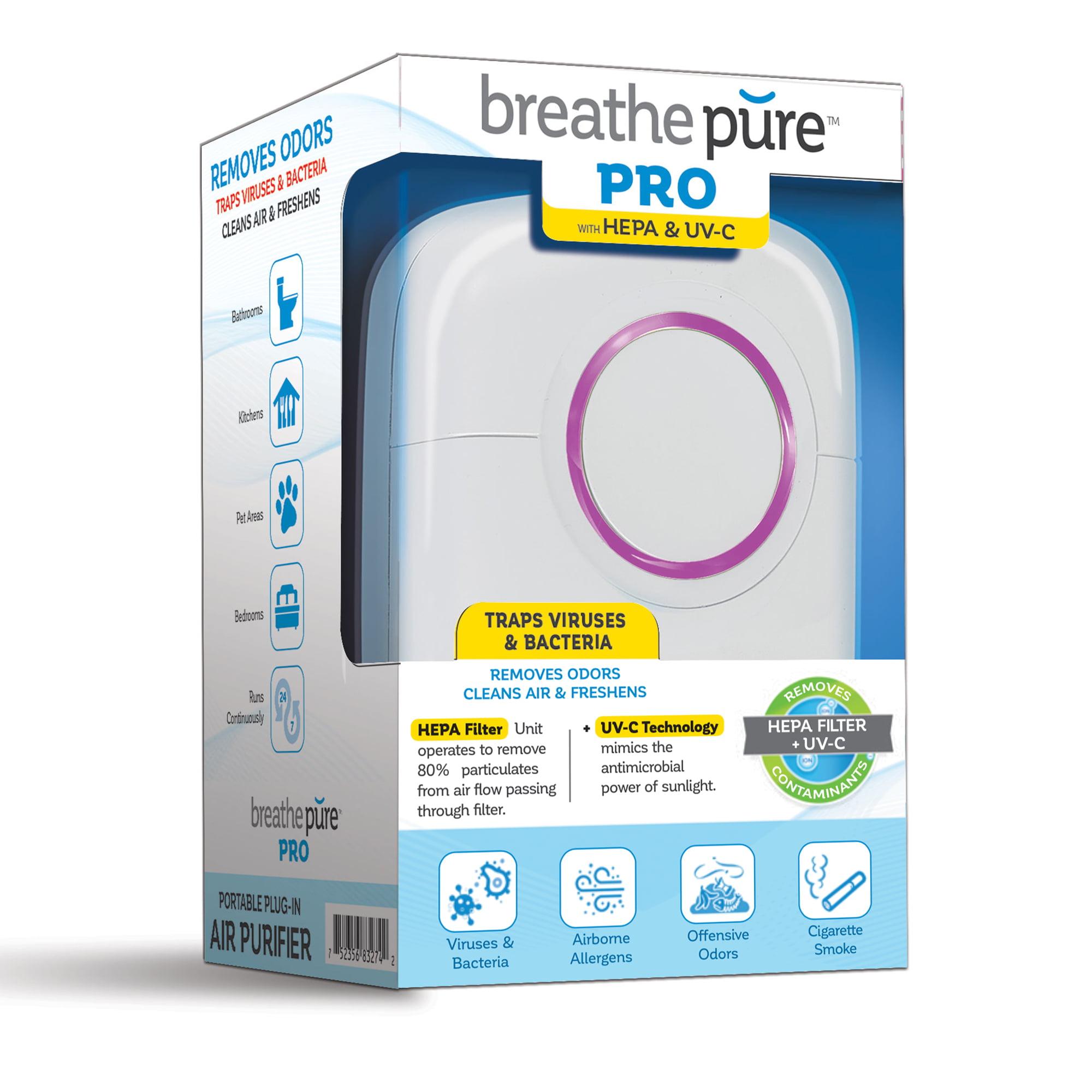 Breathe Pure Air Purifier Plus Breathe Pure Air Purifier Pro ...
