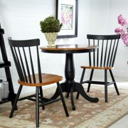 Round Table with 2 Chairs, Multiple Finishes