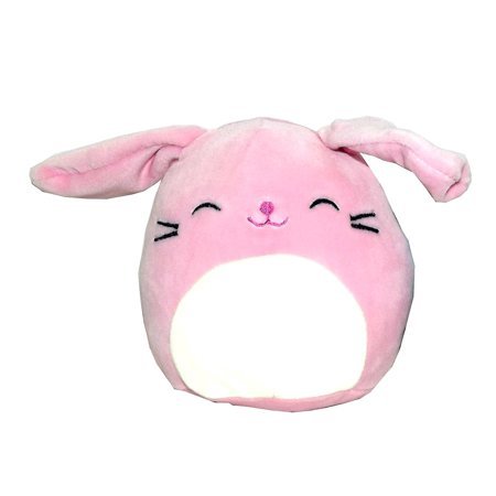 Kellytoy Squishmallows Easter Themed Pillow Plush Toy (Pink Bunny, 5
