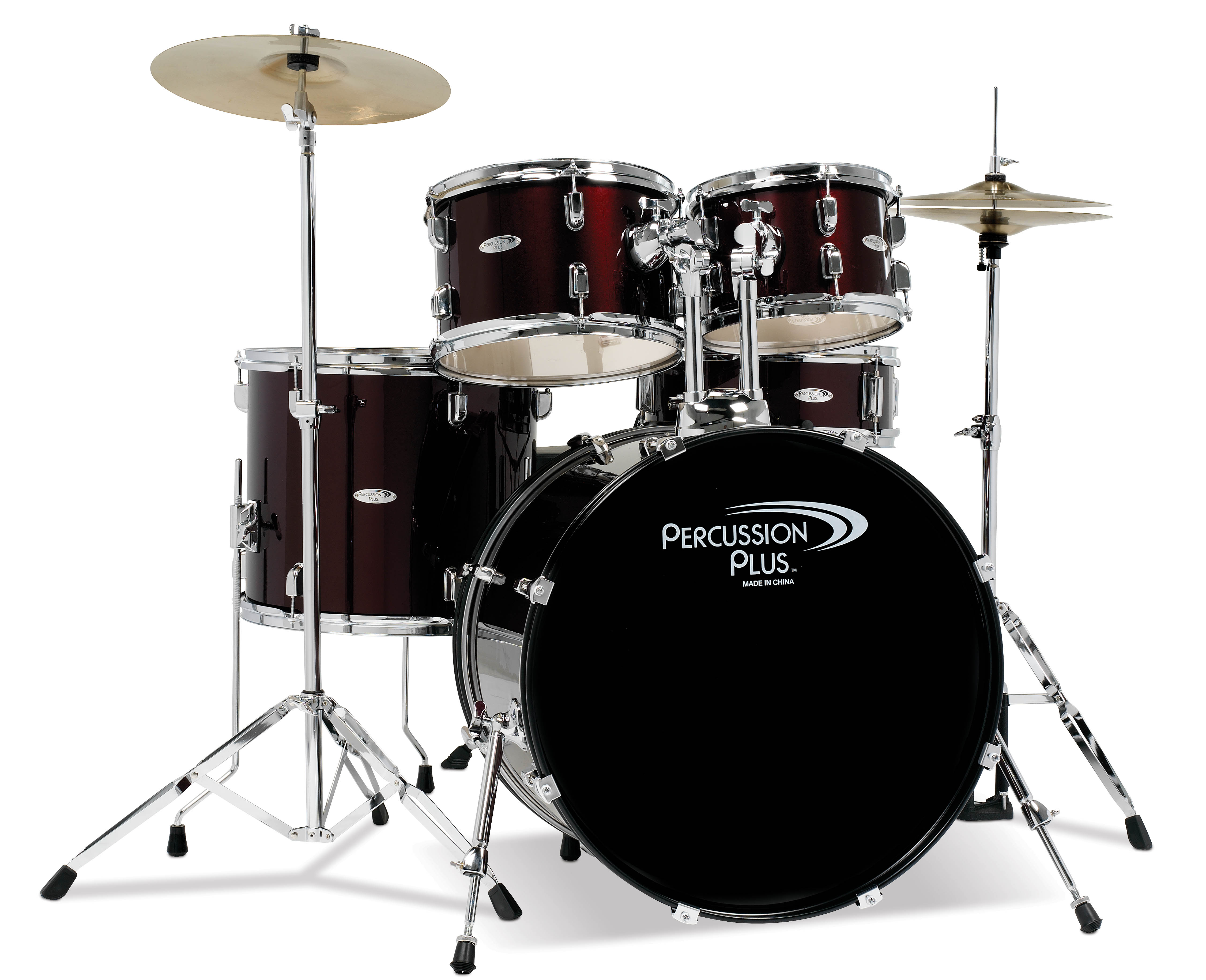 Percussion Plus 5-Piece Drum Set by Percussion Plus