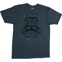 Transformers Megatron Men's Grey T-Shirt | L