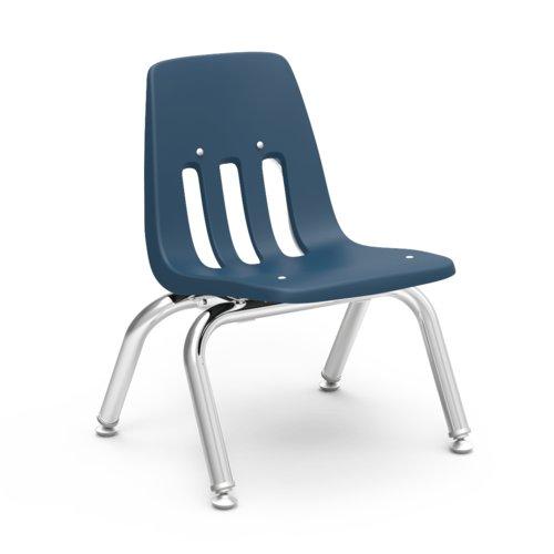 Virco 9000 Series 10'' Plastic Classroom Chair (Set of 4)