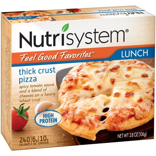 Nutrisystem Feel Good Favorites Thick Crust Pizza, 3.8 Oz, 6 Ct