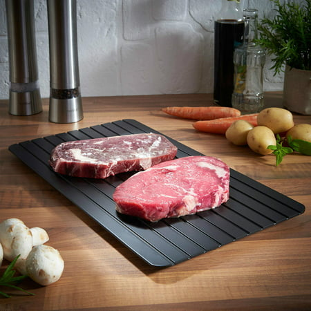 Bright Hot Fast Defrosting Tray Kitchen The Safest Way to Defrost Meat Or Frozen (Best Way To Tenderise Meat)