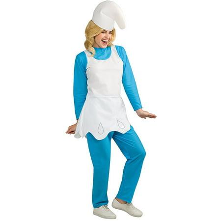 Womens Smurfs The Lost Village Smurfette Costume - Smurfette Costume For Halloween