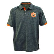 Auburn Tigers Spiral Mens Heather Blue Polo Shirt