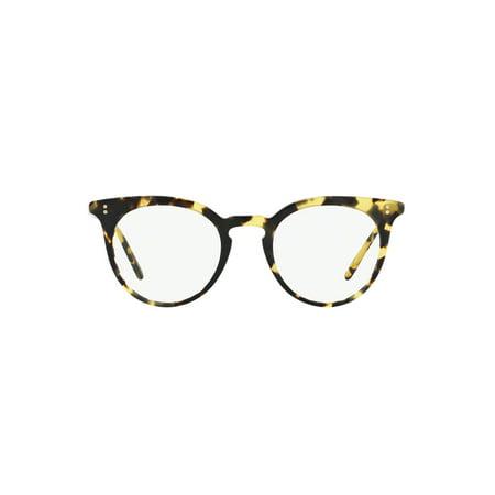 fa1bf1bf7ad Oliver Peoples OV 5348U Jonsi 1571 Dark Tortoise Black Eyeglasses -  Walmart.com