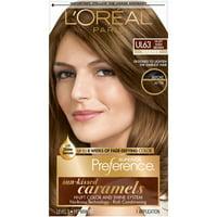 L'Oreal Paris Superior Preference Fade-Defying Color & Shine System Light Beige Brown Cooler 6Bb Hair Color, 1 Kt