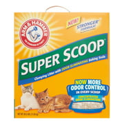 Arm & Hammer Super Scoop Clumping Scented Cat Litter, 26.3 Lb