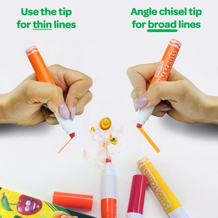 Crayola Silly Scents 6Ct Scented Washable Scented Markers - image 3 de 5