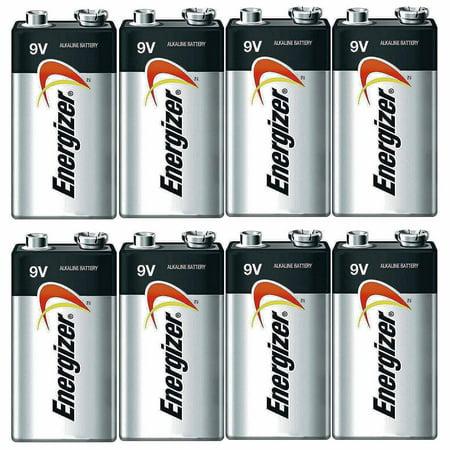 Energizer E522 Max 9 Volt Alkaline Battery - 8