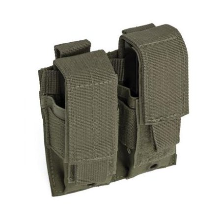 Double Pistol Mag Pouch - Olive Drab