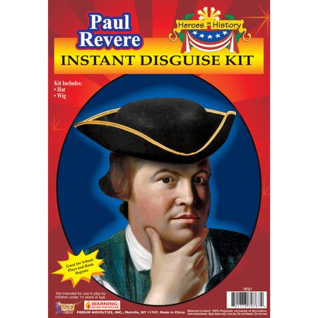 Paul Revere Heroes In History Adult Halloween Accessory