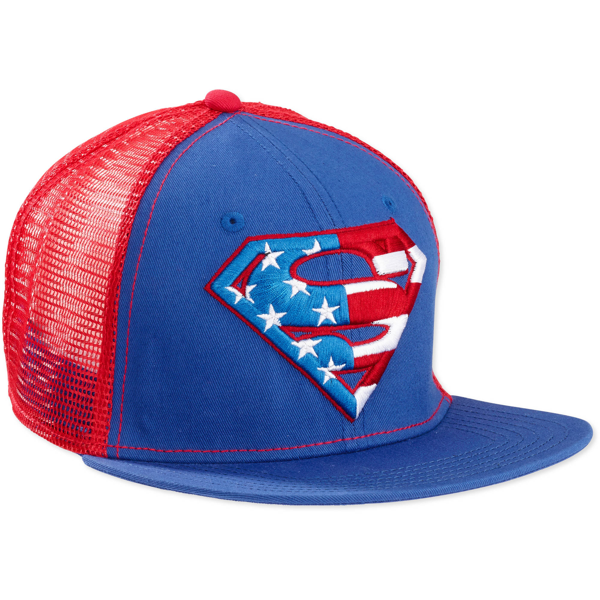 Men's Superman Snap Back Hat