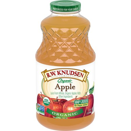 R.W. Knudsen Family Organic Apple Juice, 32-Fluid Ounce ()