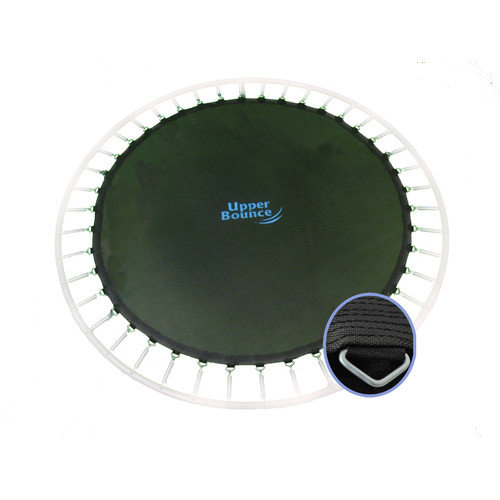 Upper Bounce Jumping Surface for 8' Trampoline with 48 V-Rings and 5.5'' Springs