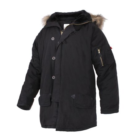 - UF Vintage N-3B Parka Jacket Mens Coat