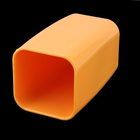 Bathroom Plastic Toothbrush Toothpaste Holder Tooth Cleaning Cup Orange 300ml - image 3 of 4